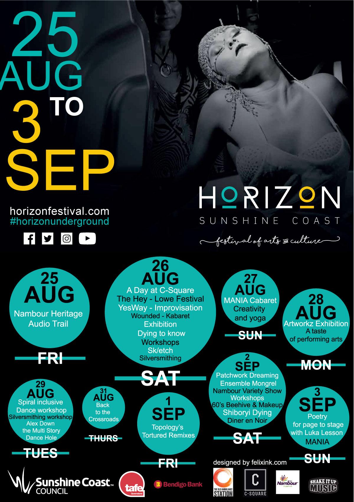 Horizon Festival Postcard